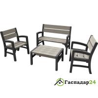 Комплект мебели Keter Montero WLF Bench set
