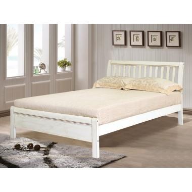 Кровать Кондор 3601 белая с патиной