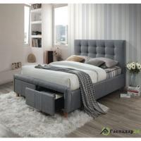 Кровать Signal Askot серая